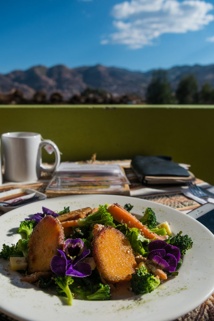 Ayni Organic Restaurant Sunset Hostel San Blas Cusco