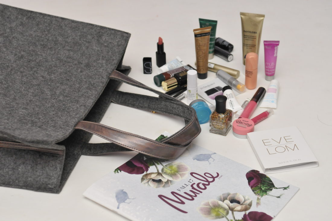 Murale Fab and Free Sample Gift with Purchase Fall 2017