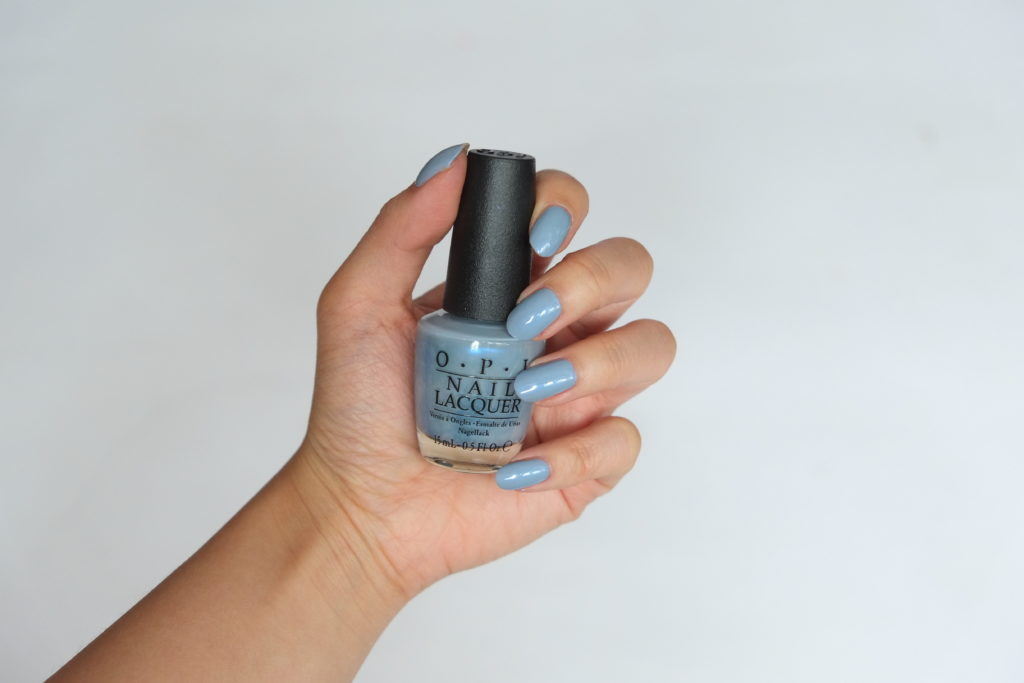 OPI Iceland Check out the old geysirs Swatch