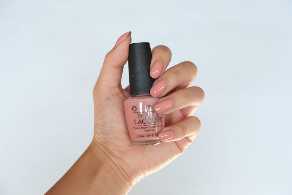 OPI Iceland I'll Have a Gin and TectonicSwatch