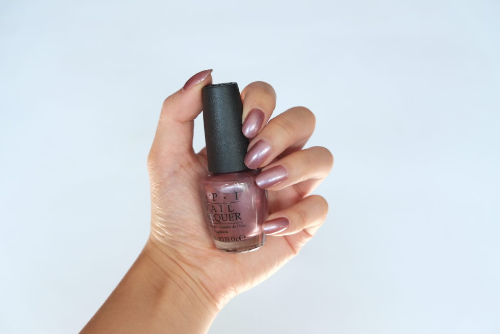 OPI Iceland Rekjavik has all the hot spots Swatch