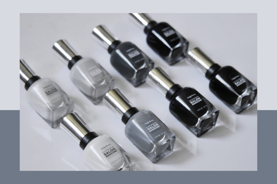 Sally Hansen Complete Salon Manicure Black to Basics Canadian Exclusive Collection