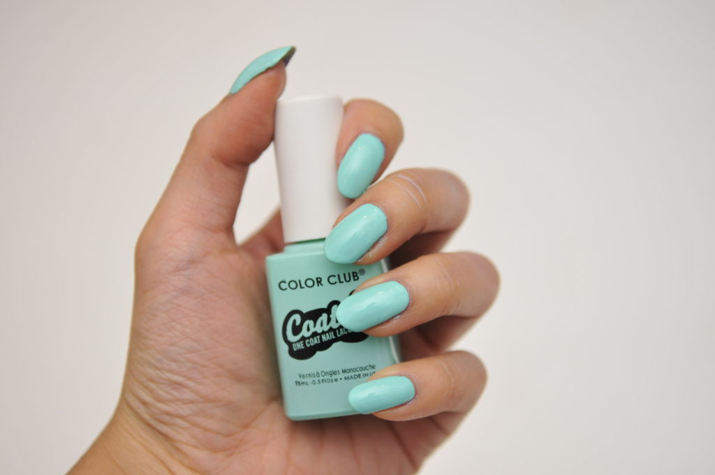 color club coated swatch review canada age of aquarius