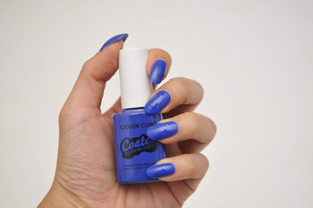 color club coated swatch review canada blue night