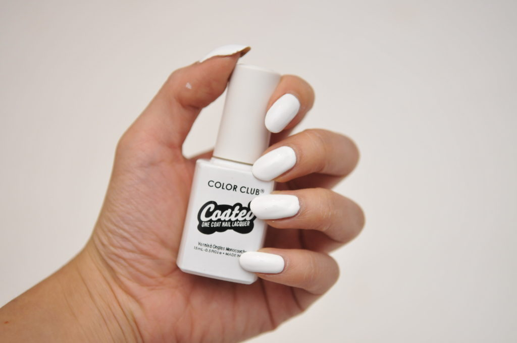 color club coated swatch review canada french tip