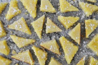 Easy Lemon Bars Recipe Blog Stephanie Lau