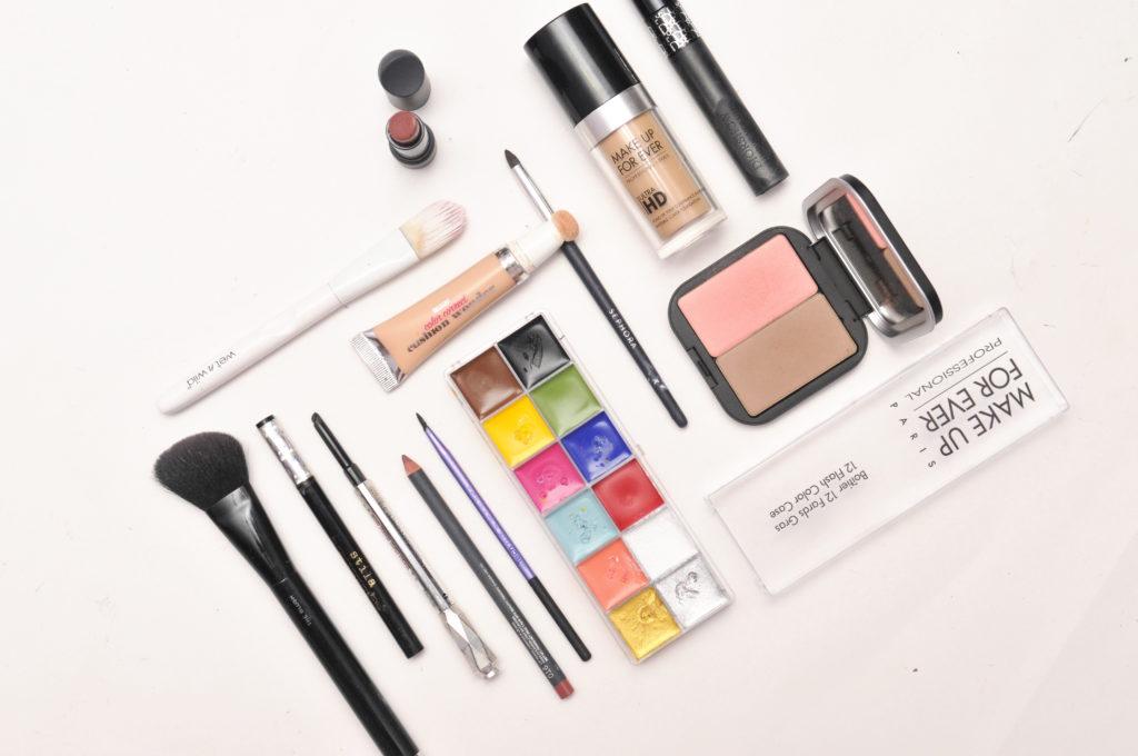 Make Up For Ever Flash Palette Halloween Makeup Look