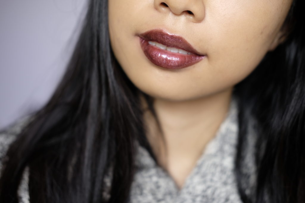 Bite Beauty Prismatic Pearl Creme Lip Gloss in Cherry Pearl Swatch Review Canada