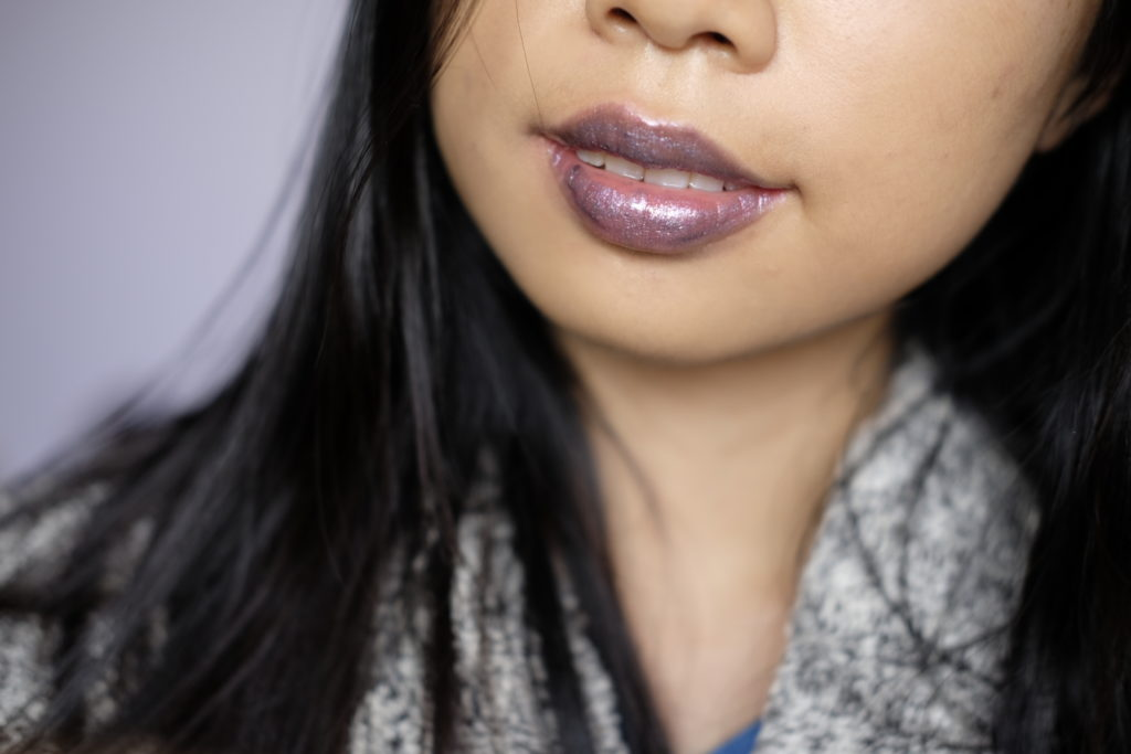 Bite Beauty Prismatic Pearl Creme Lip Gloss in Lavender Pearl Swatch Review Canada.JPG