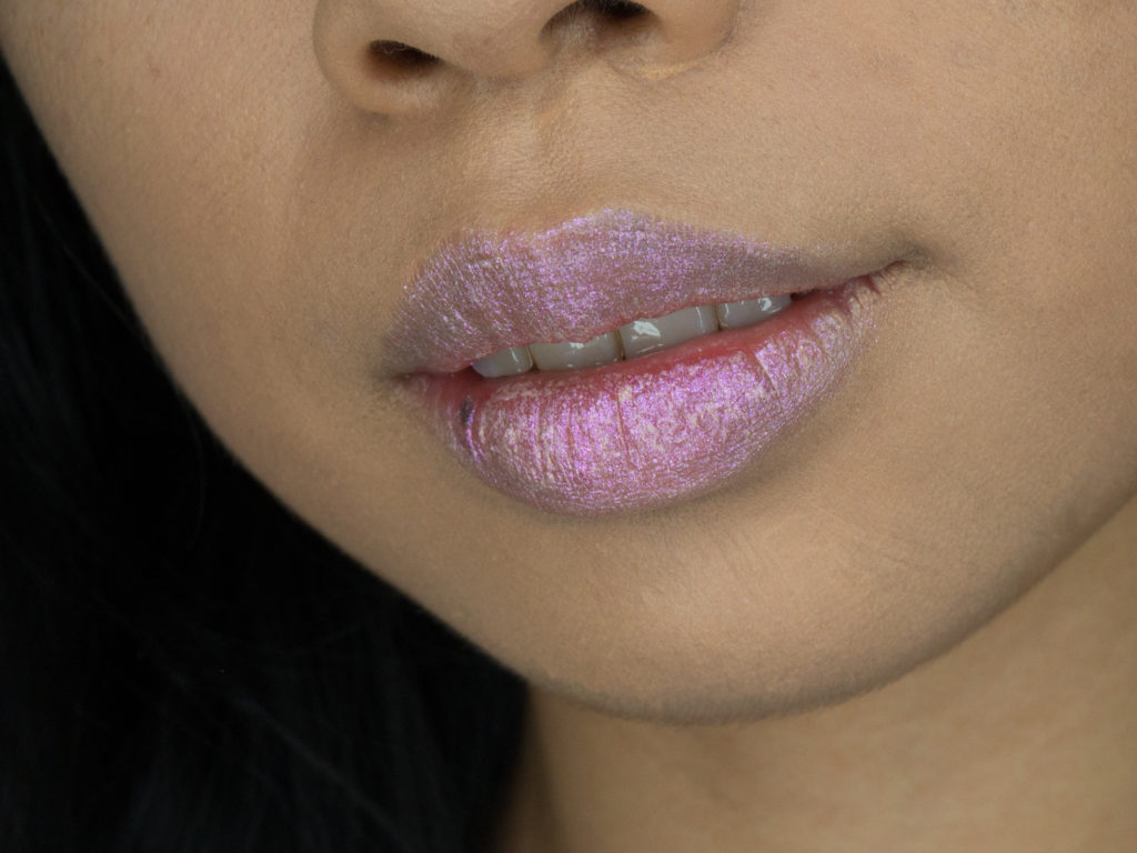 Bite Beauty Prismatic Pearl Multistick Review Blush Pearl Lip Swatch