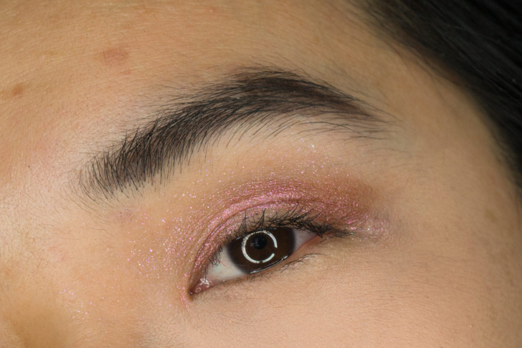 Bite Beauty Prismatic Pearl Multistick Review Rose Pearl Eye Swatch
