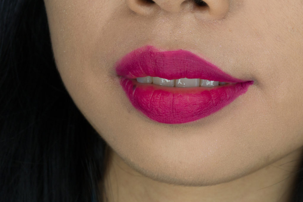 Clove and Hallow Lip Velvet in Napa Swatch Review Canada
