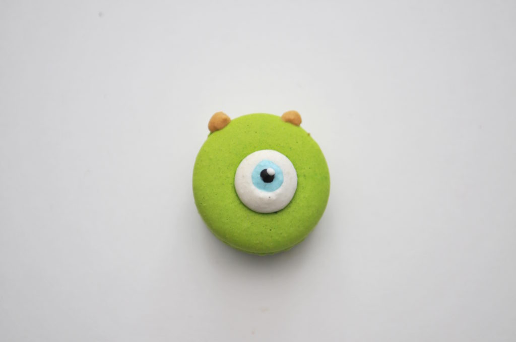DaanGo Cake Lab Character Mike Monsters Inc. Macaron Review Scarborough