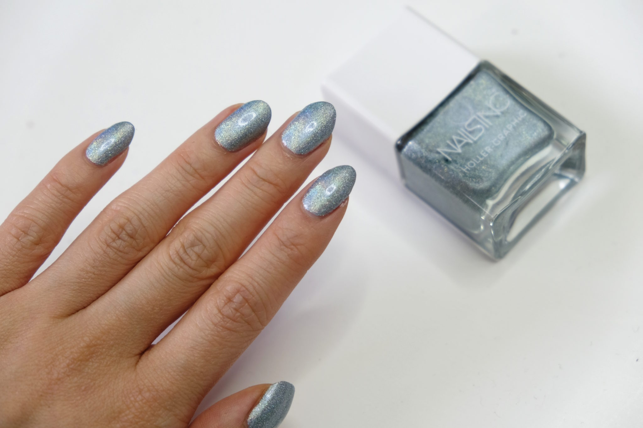 Nails Inc Holographic Holler Graphic Polishes Stephanie Lau